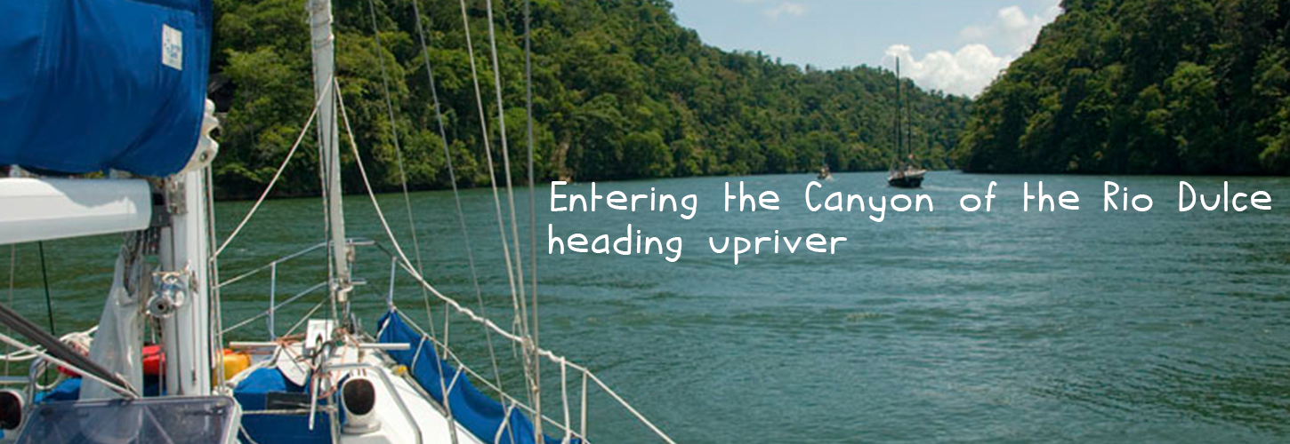 directions to rio dulce from the caribean