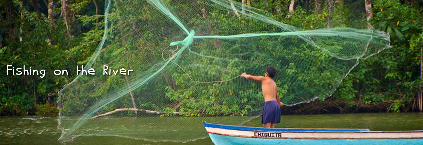 fishing and water activities in rio dulce
