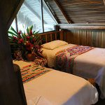 private rooms with bathroom in rio dulce