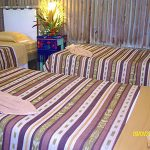 Superior triple room in rio dulce